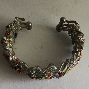 J. Crew Jewelry - J crew colorful beads skinny cuff